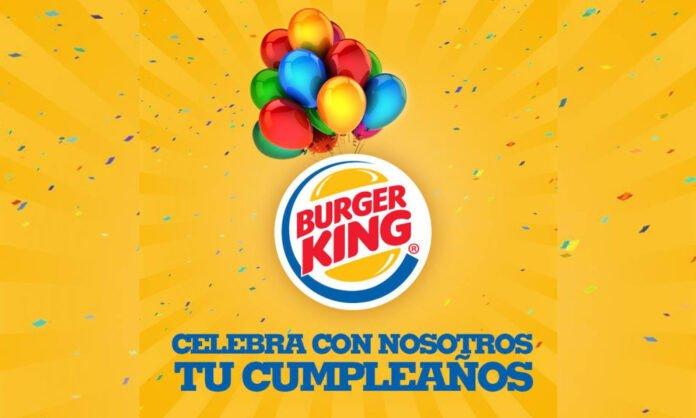 Cumpleaños en Burger King