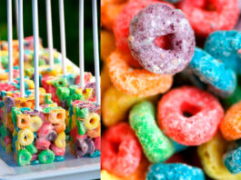 Receta de Fruit Loops Pops