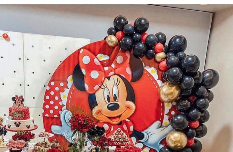 decoracion de minnie mouse