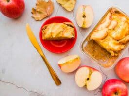 Receta de Pastel de Manzana