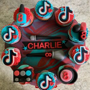 Cupcakes de Tik Tok