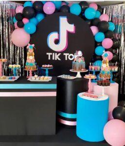 Decoración de Tik Tok