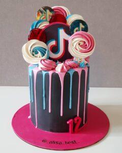 Torta de Tik Tok