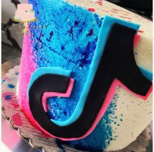Torta para fiesta de Tik Tok